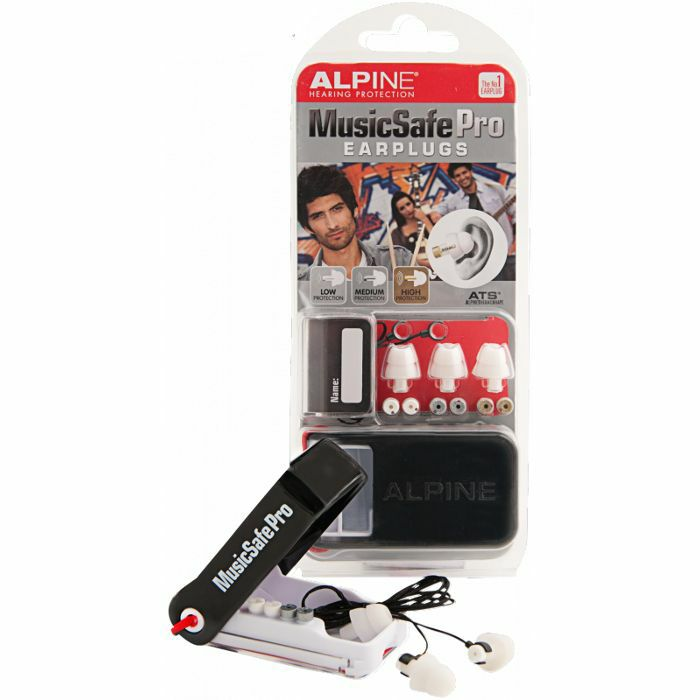 Alpine Musicsafe Pro Earplugs Hearing Protection System (white)