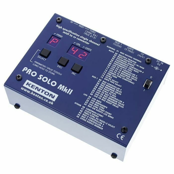 Kenton Pro Solo MkII MIDI To CV Converter
