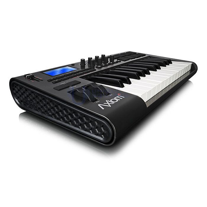 m audio axiom 25 mkii 25 key semi weighted usb midi keyboard controller ebay. Black Bedroom Furniture Sets. Home Design Ideas