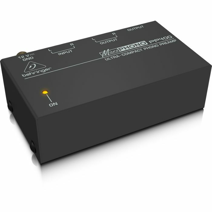 Behringer PP400 Microphono Ultra Compact Phono Preamp