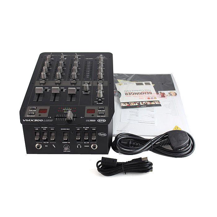 Behringer-VMX300-USB-DJ-Mixer, EspañaBehringer-VMX300-USB-DJ