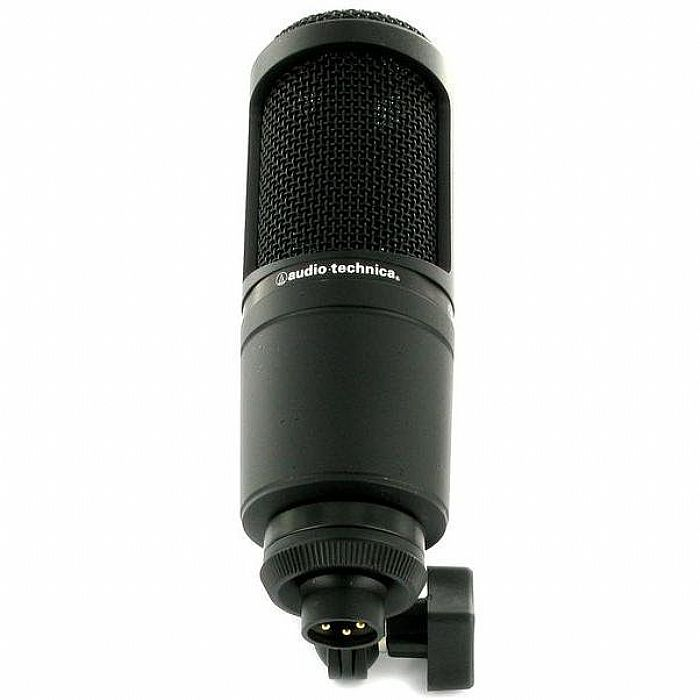 audio technica at2020 cardioid condenser microphone ebay. Black Bedroom Furniture Sets. Home Design Ideas