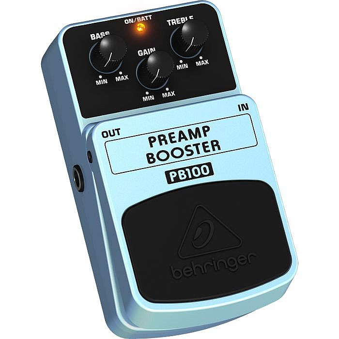 behringer pb100 preamp booster pedal ebay. Black Bedroom Furniture Sets. Home Design Ideas