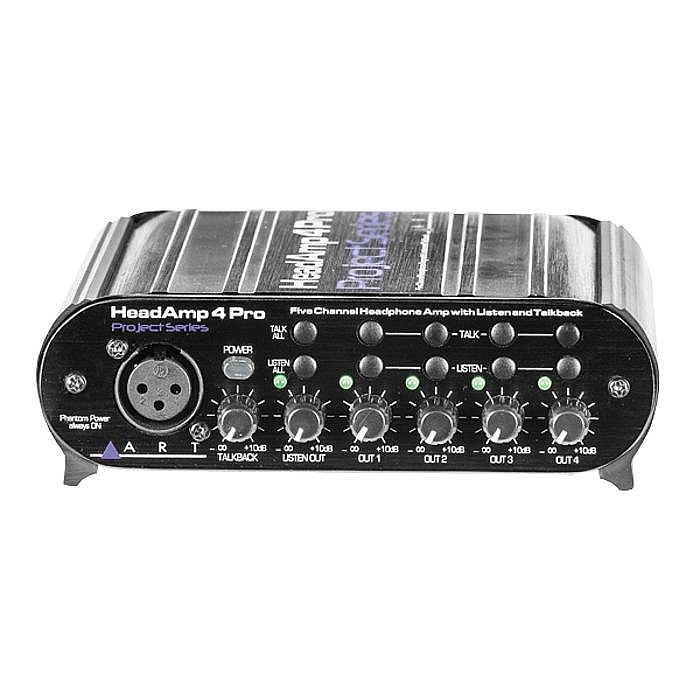 ART - ART Head Amp 4 Pro Headphone Amplifier