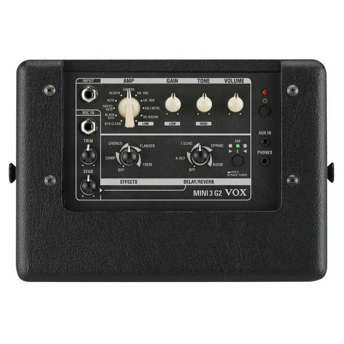 vox mini 3 g2 portable modelling guitar amp black ebay. Black Bedroom Furniture Sets. Home Design Ideas