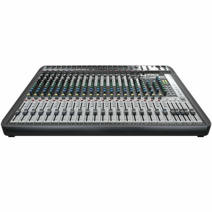 soundcraft signature 22 mtk analog mixer with onboard effects multi channel ebay. Black Bedroom Furniture Sets. Home Design Ideas
