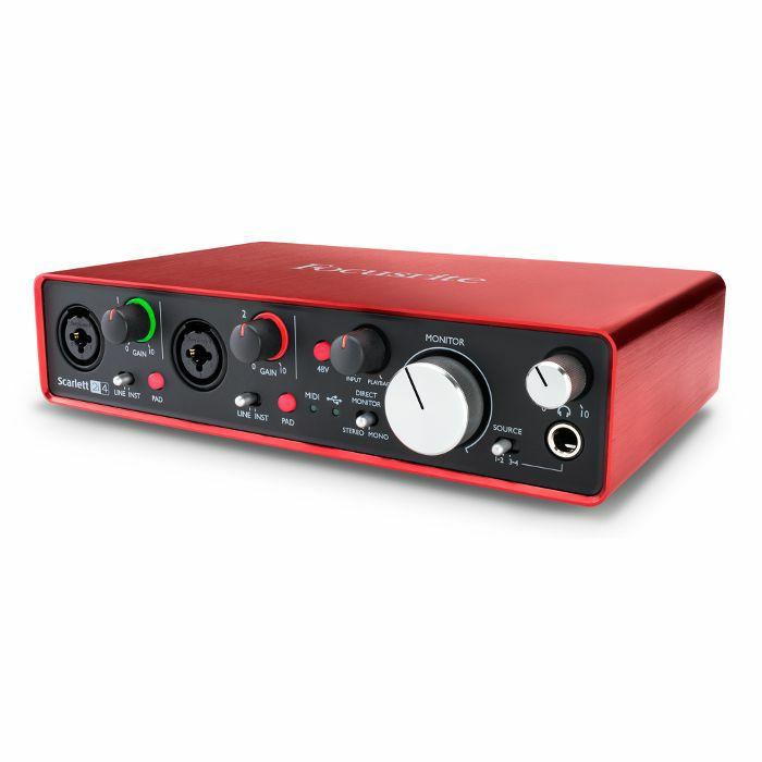 focusrite scarlett 2i4 usb audio interface 2nd generation