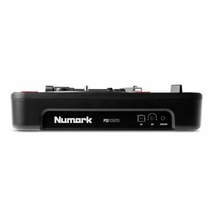 Numark PT01 Scratch Portable USB Turntable 676762315111 | eBay