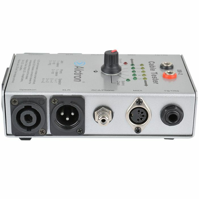 Audio Cable Tester : Alctron db professional audio cable tester ebay