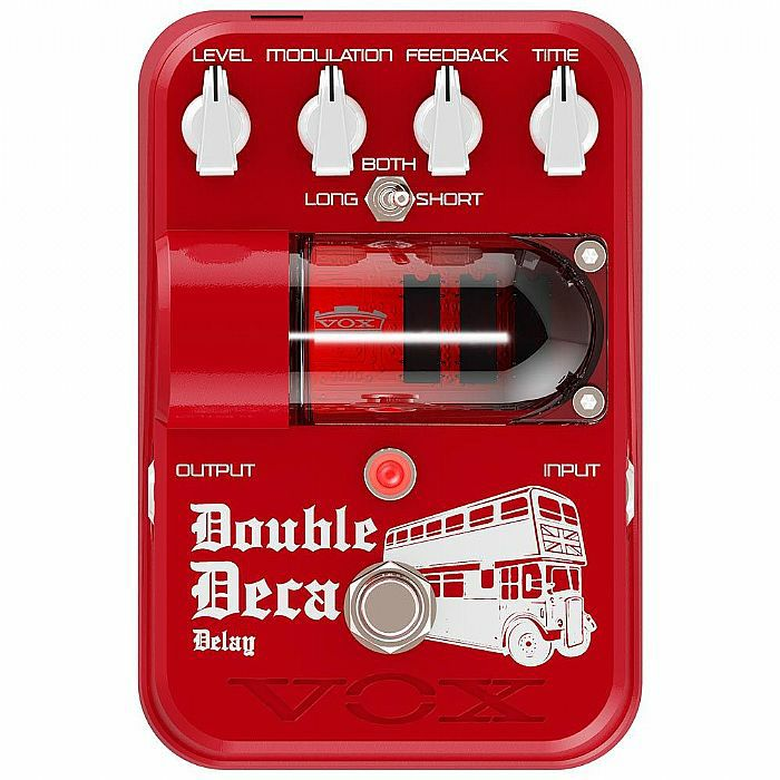 VOX - Vox Tone Garage Double Deca Analog Delay Pedal (B-STOCK)